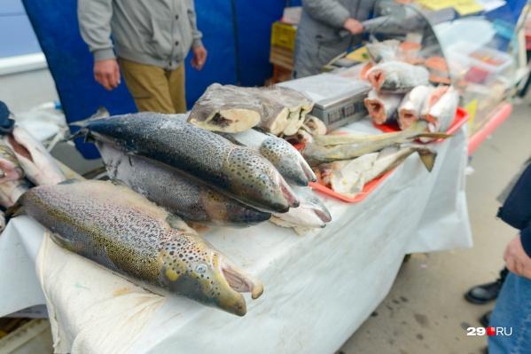 На базарах будет рыба из Дальнего Востока