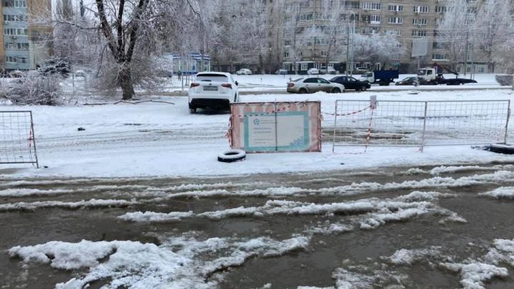 «Осталось совсем немного»: в Волгограде завершают ликвидацию массовых прорывов на водопроводе