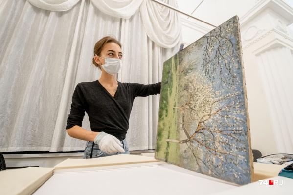 33 картины из Третьяковской галереи — уже в Челябинске