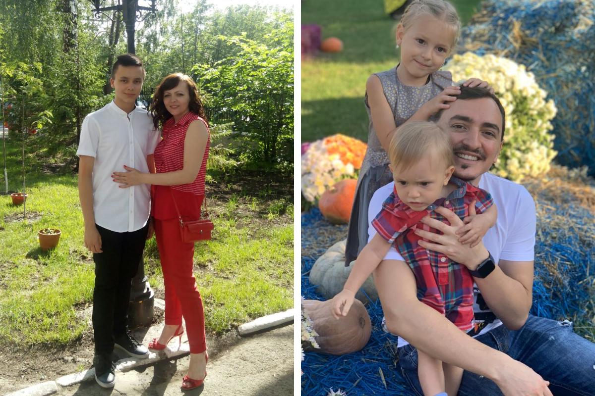 У Надежды двое детей: сын Артём тоже работает врачом, дочь Яна — флорист