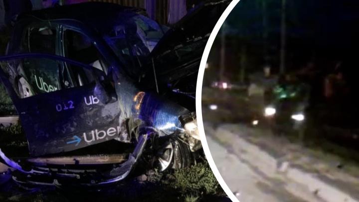 «Ехал очень странно»: появилось видео ДТП с машиной Uber, в котором пострадала девушка
