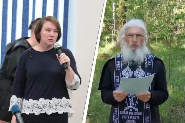 Оксана Иванова полагает, что к духовным лидерам вроде отца Сергия люди тянутся, так как вокруг много критики официальной церкви