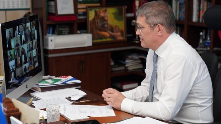 Радий Хабиров подписал указ, где вводит новые этапы по выходу из режима повышенной готовности
