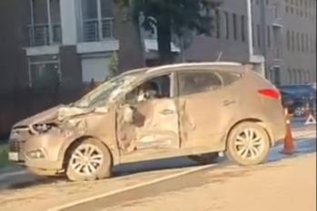 В результате ДТП пострадал водитель легковушки
