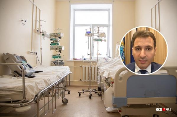 Глава Минздрава уточнил, кого госпитализируют в спецотделения