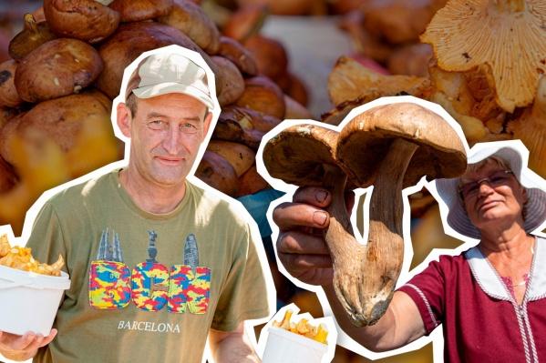 Грибы есть на многих рынках Челябинска, но их выбор не везде одинаково большой