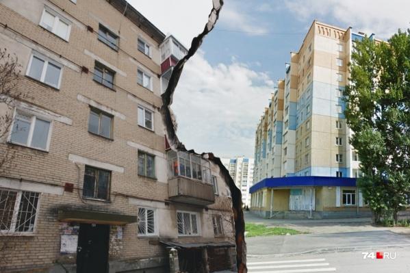 Жители аварийного дома на Потёмкина недовольны, что их переселяют в Чурилово