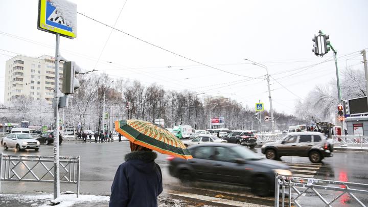 В Башкирии установится временный снежный покров