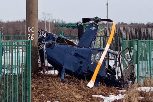 Вертолет с костромским бизнесменом на борту упал 20 февраля в Ярославской области