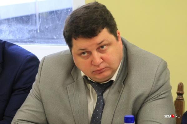 Антон Карпунов, министр здравоохранения Архангельской области