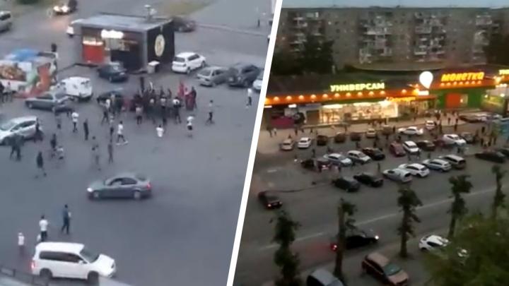 На улице Пехотинцев снова массовая драка южан: ее сняли на видео