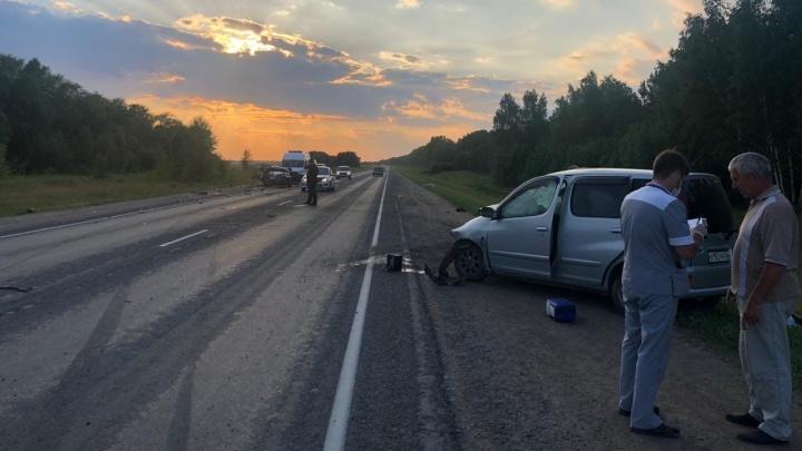 В ДТП на Черлакском тракте погибли два человека