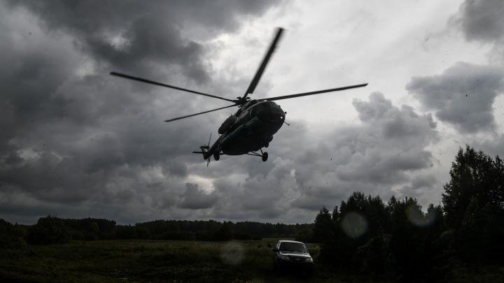 Десант из вертолета, взрыв гранат и жесткое задержание: уральская таможня остановила «контрабандистов»