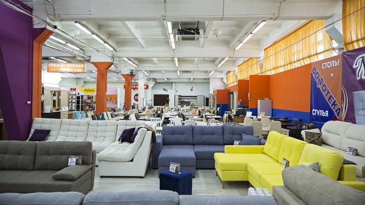 Рядом с «Березовой рощей» снова заработал большой мебельный центр — действуют скидки до 50%