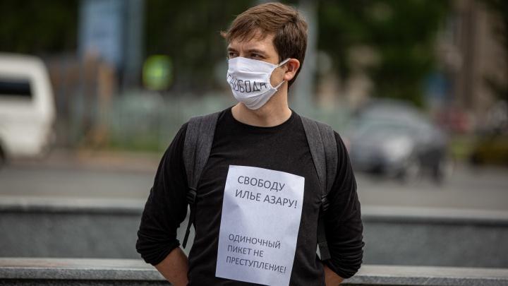 «Дали 15 суток, чтобы прижать»: новосибирцы вышли на пикеты в поддержку арестованного в Москве журналиста
