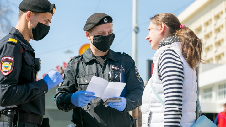 С начала пандемии COVID красноярцев оштрафовали на 1 миллион рублей