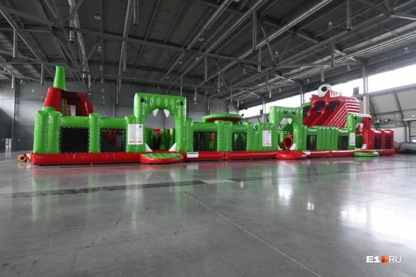 Батут станет самым большим в Екатеринбурге