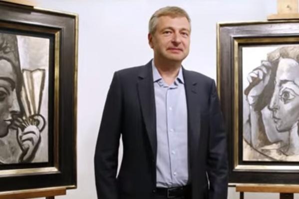 В коллекции Дмитрия Рыболовлева около 40 дорогостоящих произведений искусства