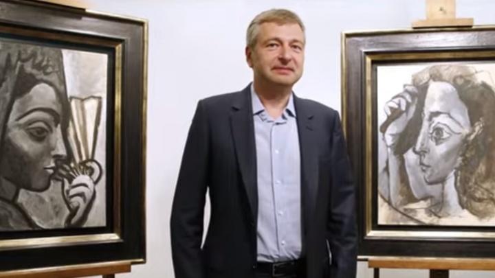 Тина Канделаки показала пять самых дорогих картин миллиардера Дмитрия Рыболовлева