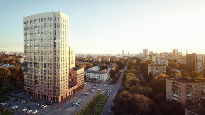 Дом из желтого кирпича: на границе Пионерского и Втузгородка построят атмосферный квартал