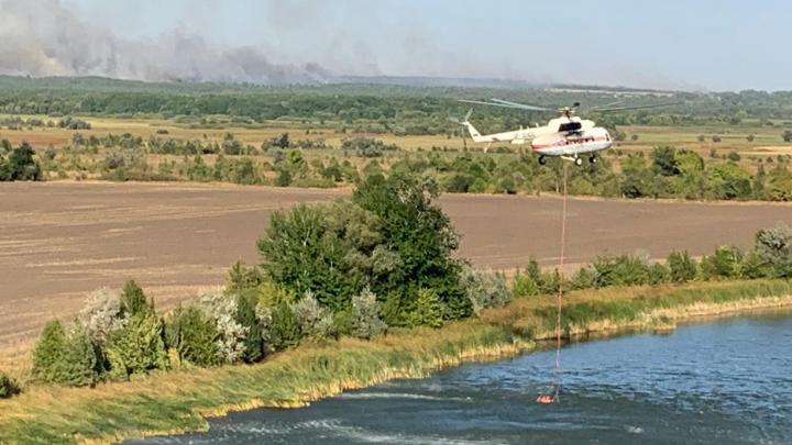 Названы предварительные причины пожаров в Ростовской области