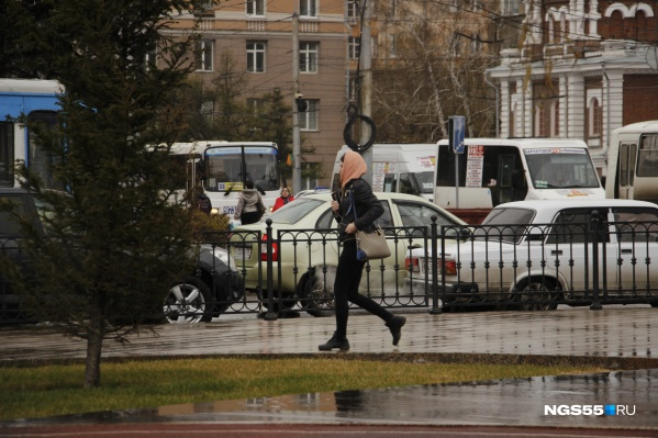 Как минимум до конца рабочей недели в Омской области будет прохладно и дождливо