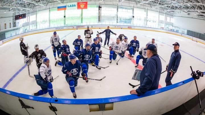 Тольяттинским хоккеистам задержали результаты тестов на коронавирус