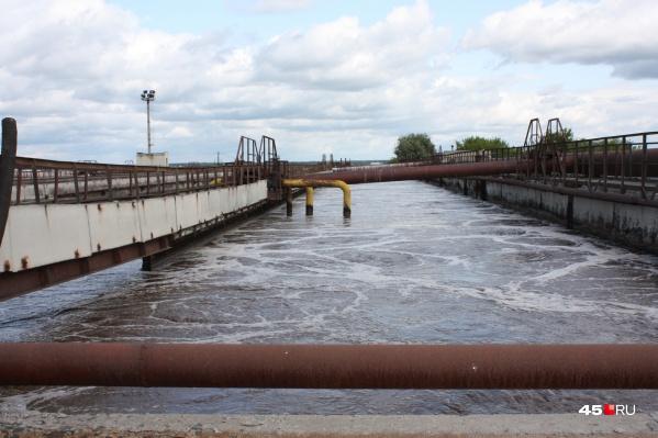 Общественники считают, что обеззараживание воды на очистных сооружениях канализации в Кургане проводят устаревшим способом