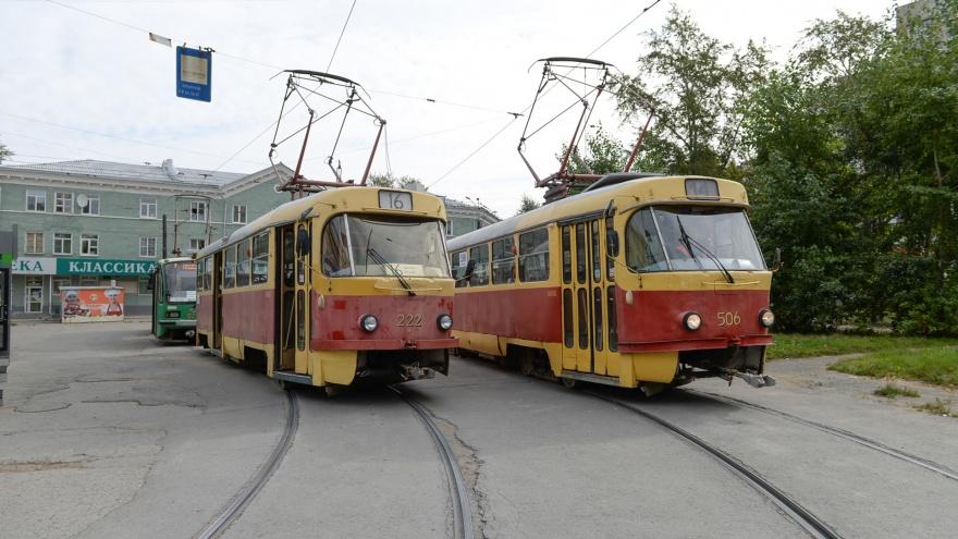 На Эльмаше закроют трамвайное и автомобильное движение