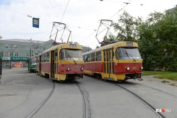 Запустить трамвайную ветку до Пышмы планировали в конце 2020 года