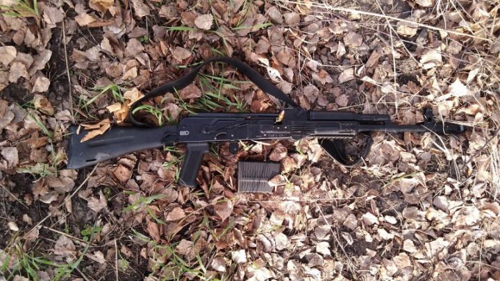 В Зауралье по подозрению в браконьерстве задержали группу челябинцев с арсеналом оружия