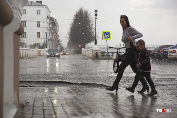 В Ярославле май в этом году выдался прохладным