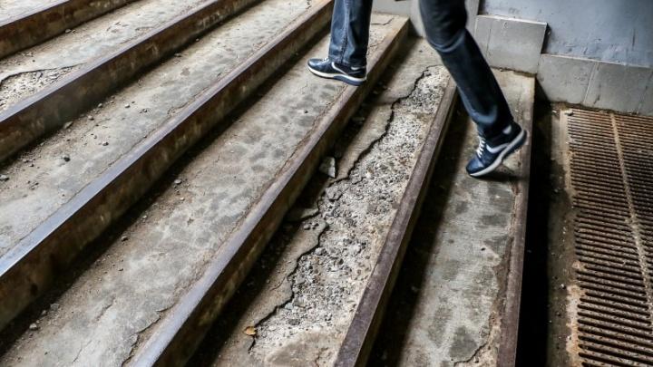 На площади Лядова отремонтируют подземный переход