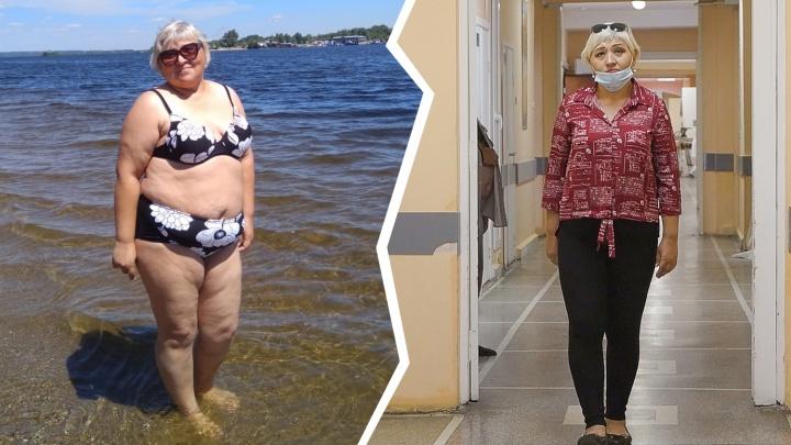 «Ем что хочу»: жительница Челябинской области ушила желудок ради новых коленей