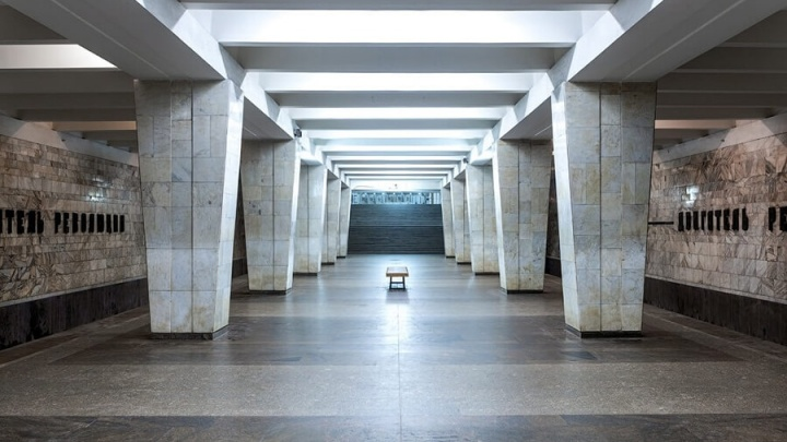Станцию метро «Двигатель Революции» назвали одной из самых уродливых в России