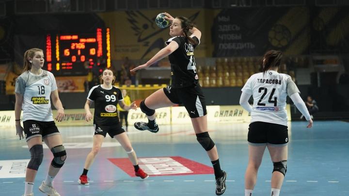 ГК «Ростов-Дон» обыграл «Уфу-Алису» в последнем матче 2020 года