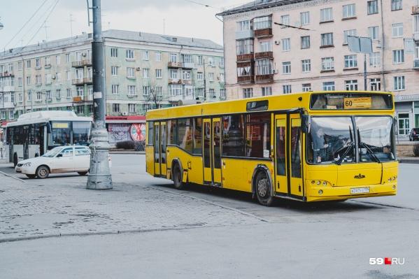 Автобусы № 60 изменят маршрут