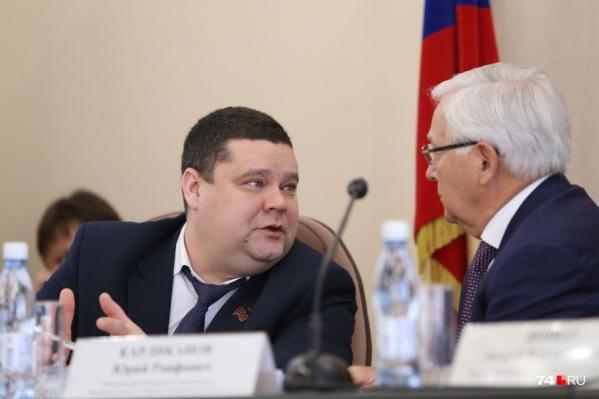 Политик-врач Дмитрий Тарасов снова вернется в медицину — теперь на должность первого заместителя министра здравоохранения Челябинской области