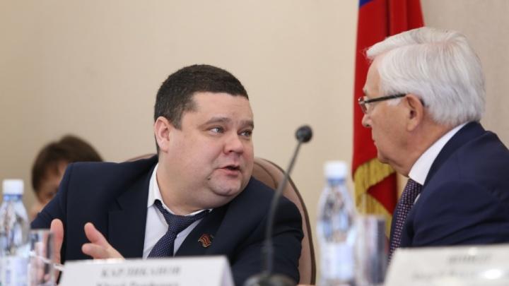 Вице-спикер гордумы Челябинска Дмитрий Тарасов перейдет на работу в Минздрав