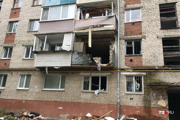 Дом на улице 50 лет ВЛКСМ, 95 признан зоной вероятной чрезвычайной ситуации