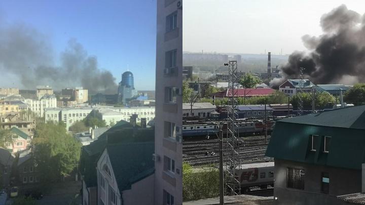 «Черный дым переполошил народ»: что горело за железнодорожным вокзалом Самары