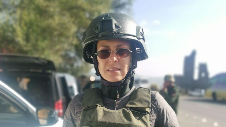«Меня спасла кошка»: Чичерина рассказала, как попала под обстрел в Нагорном Карабахе