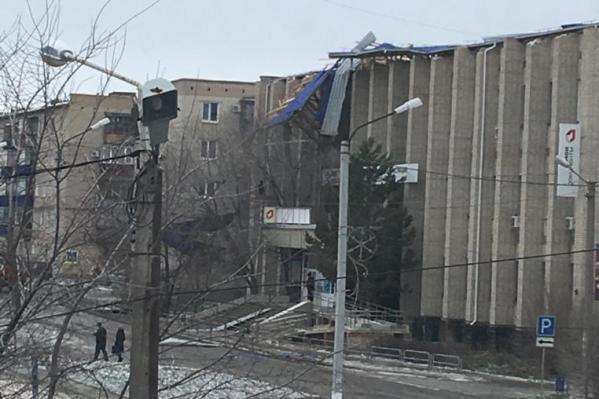 Непогода в Карталах разгулялась с утра 7 апреля