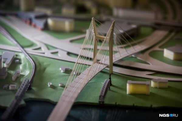 Макет четвертого моста