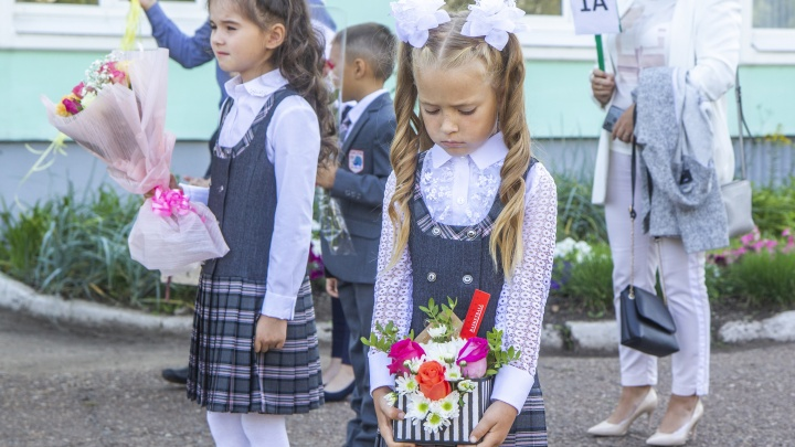 Мама уфимского первоклашки — о Дне знаний в COVID-19: «Хочется детей обнять и потискать, но нельзя»