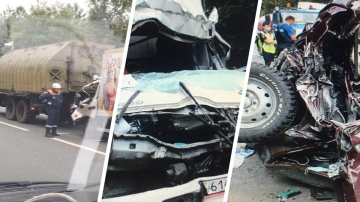 «Допустили ДТП»: военные рассказали, почему произошла смертельная авария в Петровском