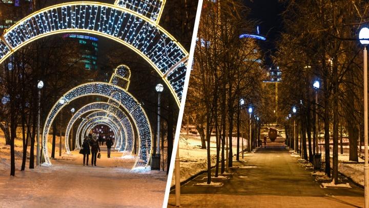 Было — стало: 9 фотографий праздничного и потускневшего Екатеринбурга