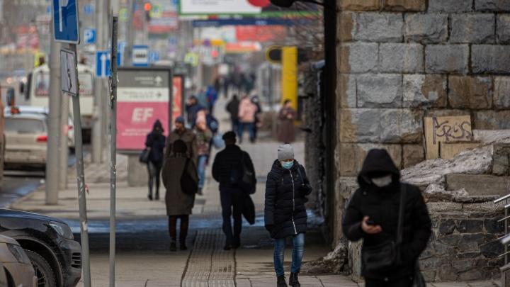 На улицах много людей: какой индекс самоизоляции в Новосибирске