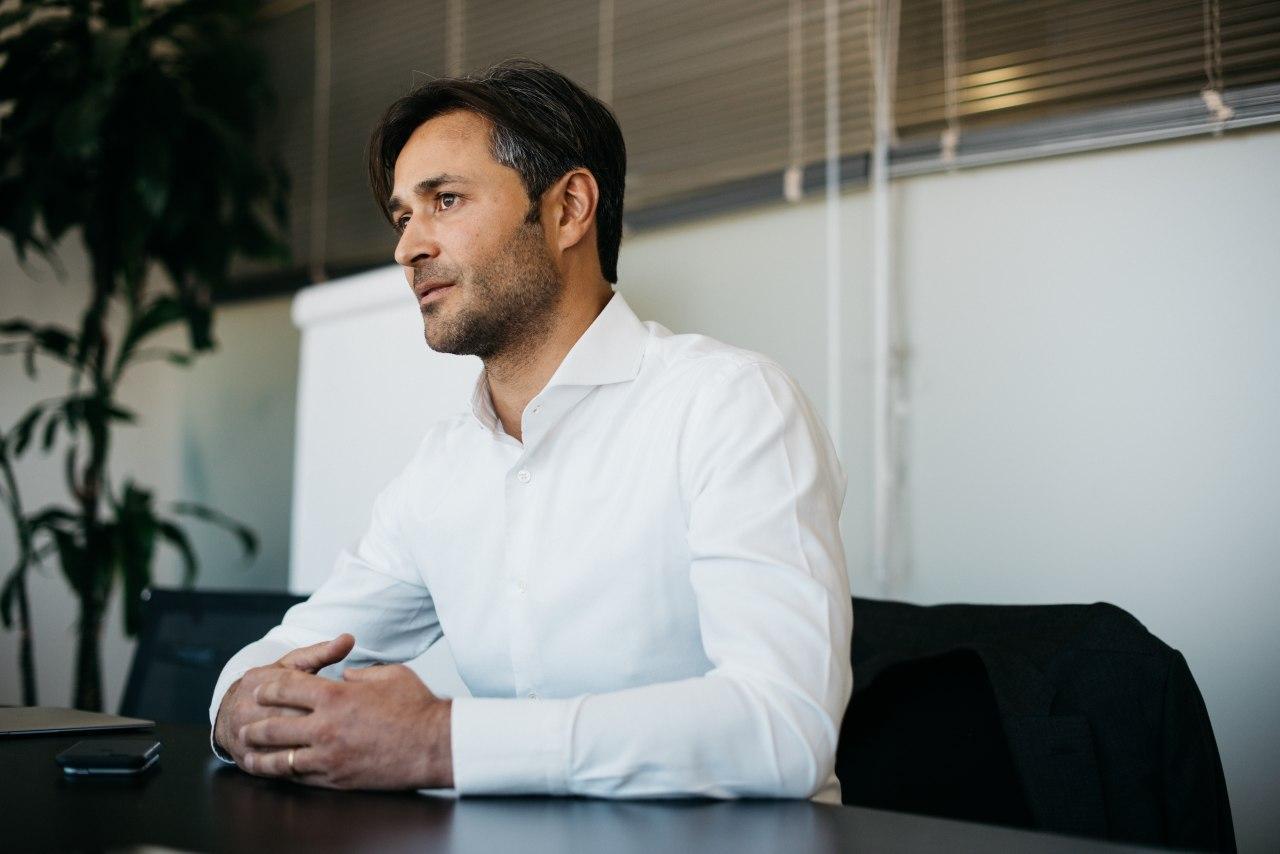 Михаил Скигин, председатель совета директоров «Петербургского нефтяного терминала»<br><br>автор фото Семен Кац<br>