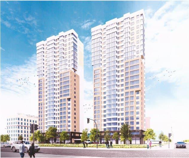 На месте конструктивистского здания появятся две башни